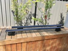 2xBLACK NEW roof rack / cross bar for Mitsubishi Asx 2010-2020 goes on side rail