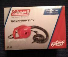 Coleman Quickpump 120v Red Universal Pump