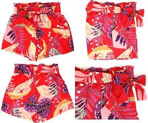 Women's Casual Elastic Waist Basic Summer Shorts with Pockets