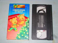 Christopher et Holly - Les Oursons Qui Ont sauvé Noel (VHS)(French) Testé