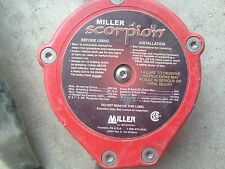 MILLER Scorpion PFL-4/9FT Personal Fall Limiter arrest device 3AE96