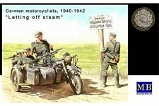 "MasterBox MB3539 1/35 German Motorcyclists 1940-1943 ""Letting off steam..."""