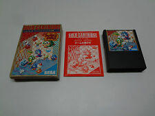 Final Bubble Bobble Sega Mark III / Master System Japan