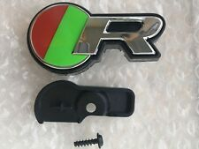 Genuine Jaguar 2014 'R' Grille Badge Decal ,Plinth And Screw