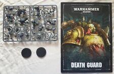 40k Chaos Marines  Death Guard  Plague Marine Champion + Noxious Blightbringer