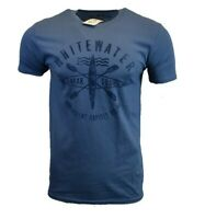 NORTHERN OUTPOST Mens T Shirt American USA Whitewater Hiking Kayak Outdoor Tee