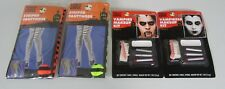 Halloween Costume Accessories Lot Makeup Tights NEW