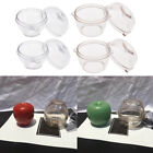 4Pcs Diy Apple Plastic Soap Candle Making Mould Polymer Clay Resin Crafts Mold