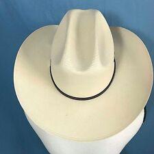 b49881d4329 Resistol George Strait Cowboy Hat Size 7 1 2 NEW!