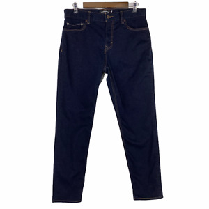 Banana Republic Tapered RMD Athletic Tapered Leg Dark Blue Jeans Size 32 x 30