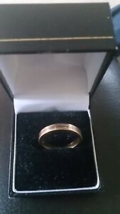 Cartier Trinity Wedding Ring Three Gold 18K Size Q