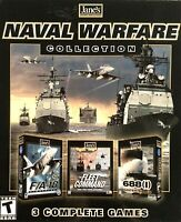 Jane's Naval Warfare Collection Boxed PC Games- 3 Complete Games