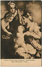 Firenze - Andrea del Sarto La Sacra Famiglia, R. Galleria Pitti - FP B/N