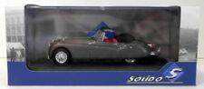Solido 1/43 Scale S4302400 - 1956 Jaguar XK140 - Gris Metal