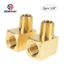"2pcs 1/8"" Pipe Fitting 90 Degree Brass Street Elbow with NPT Male pipe"