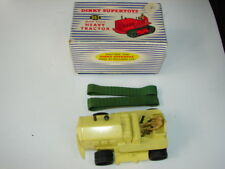 VINTAGE DINKY SUPERTOYS TRUCK 963 BLAW KNOX HEAVY TRACTOR IN BOX WITH DRIVER