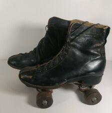 Vintage/Antique Roller Skates black Collectors Item