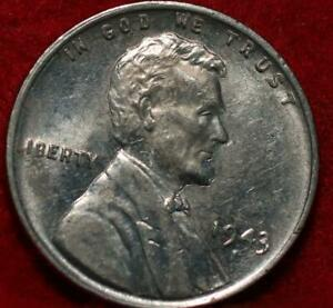1943-S San Francisco Mint Steel Lincoln Wheat Cent