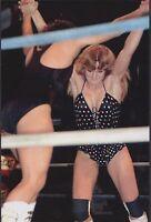 4 X 6    WRESTLING PHOTO~WWF~ VELVET MCINTYRE MSG 1970S  IN ACTION