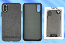 INCIPIO Esquire Series Fabric Case - For iPhone X & XS - Carnaby Grey