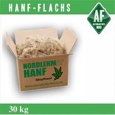 Stopfhanf 30kg-Ballen Hanf Hanffasern Lehm