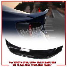 Color#D4S Fit For TOYOTA GT86 SUBARU BRZ SCION FR-S 2D Coupe L Trunk Spoiler 20