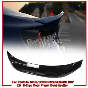 Color#D4S Fit For TOYOTA GT86 SUBARU BRZ SCION FR-S 2D Coupe L Trunk Spoiler 20