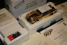 DANBURY MINT ASTON MARTIN DB5 GOLD NEW WITH PAPERWORK