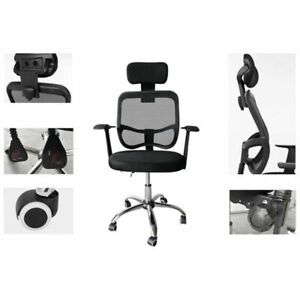 Ergonomic Office Chair Desk Chairs High Back Computer Study Mesh Tank Home Lift