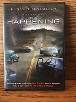 The Happening (DVD) Disc NM M. Night Shyamalan Mark Wahlberg