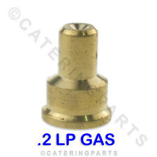IN18 POLIDOR SIZE 0.2 LP LPG GAS PILOT JET INJECTOR .2mm ELECTROLUX WHIRLPOOL