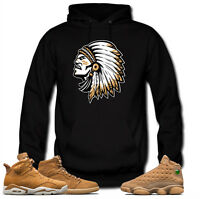 Hoodie to match  Jordan Golden Harvest OG Wheat Gold 6 1 13.Chief Wheat Black