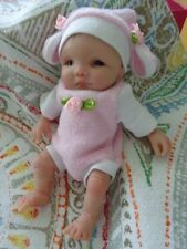 """5"""" Polymer Clay Art Baby Doll Sculpt OOAK by T. RICE - Hebert -Resell"""
