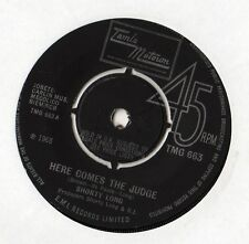 "Shorty Long - Here Comes The Judge 7"" Single 1968"