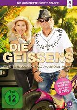 5 DVDs* DIE GEISSENS - EINE SCHRECKLICH GLAMOURÖSE FAMILIE - STAFFEL 5 # NEU OVP