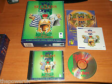 THE SETTLERS III 3 MISSION CD PLUS LEVEL EDITOR. ADD-ON/EX PACK BIG BOX VERSION