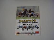 advertising Pubblicità 1979 BULTACO PURSANG/FRONTERA ..