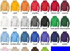 GILDAN Men's Size 2XL-5XL ZIP Heavy Blend Hooded Sweatshirt Hoodie Hoody 18600