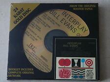 """BILL EVANS """"Interplay"""""""" [24 Karat Gold Disc] DCC GZS 1102 w/ Freddie Hubbard NEW"""