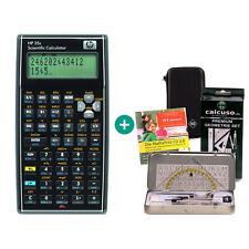 HP 35s Taschenrechner + Schutztasche GeometrieSet Lern-CD