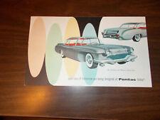 "1955 Pontiac ""Motorama""  4-page Sales Brochure / Strato-Streak/Safari/Catalina"