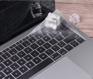 Silicone Thin Clear KeyBoard Cover Skin For MacBook Air Pro/Retina11/12/13/15""