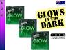 Four Seasons GLOW IN THE DARK Condoms Multi Options - FREE SHIPPING