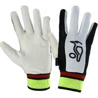 Kookaburra Cricket Plain Chamois Full Finger Cotton Wicket Keeping Inner Gloves