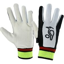 Kookaburra Cricket Plain Chamois Full Finger Cotton Wicket Keeping Inner Gloves