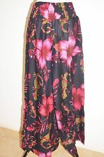 Pants hippie gypsy Aladdin yoga Comfy Loose Flower women Beach casual Pink