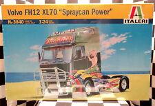 "Italeri 3840 Volvo FH12 XL70 ""Spraycan Power""  1:24 Plastic Model Kit 553840"