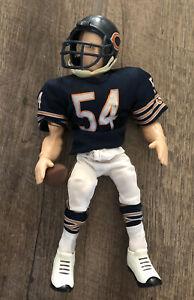"RARE 2007 Chicago Bears Brian Urlacher HOF Gladiators of the Gridiron Figure 10"""