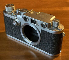 "1953 LEICA IIIf ""Red Dial"" Rangefinder Camera"