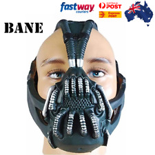 Batman:The Dark Knight Rises Bane Dorrance Mask Cosplay Party Prop Helmet Black